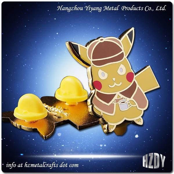 Professional Cartoon Animal Badge Customization
