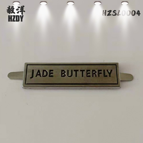 Gold Nameplate for High-end Leather Handbags