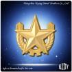 Metal Police/Security Cap Badge
